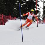 Canadian Paralympic downhill ski team