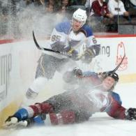 Forward for the NHL's St.Louis Blues