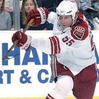 2002 Olympic gold medal winner and currently with the NHL's Phoenix Coyotes